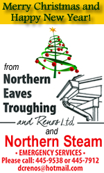 Northern Eave Troughing and Renos Christmas 2018